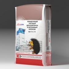 Кладочный раствор для кирпича и бетонных блоков марки по прочности М150 № 111/51