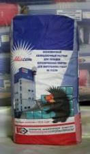 Экономичный облицовочный раствор для укладки керамической плитки для внутренних работ № 312/08