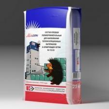 Состав клеевой полимерминеральный для наклеивания теплоизоляционных материалов и армирующей сетки № 512/22