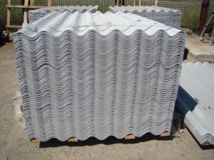 Шифер серый восьмиволновой