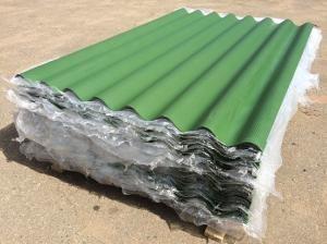 Шифер зелёный восьмиволновой 1750×1130×5,2мм