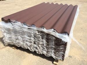 Шифер коричневый восьмиволновой 1750×1130×5,2мм