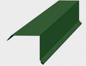 Торцевая планка окрашенная (кр., кор.,син., зел.)
